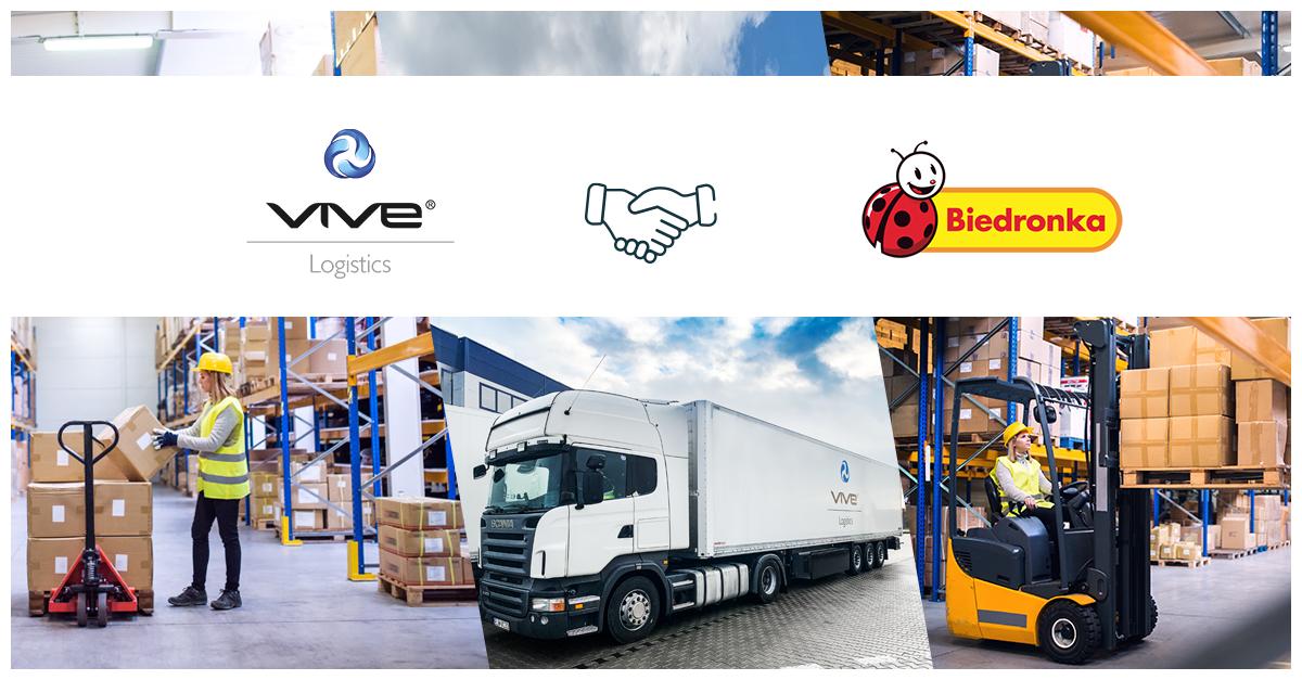 Jeronimo Martins Polska nawiązuje współpracę z VIVE Logistics