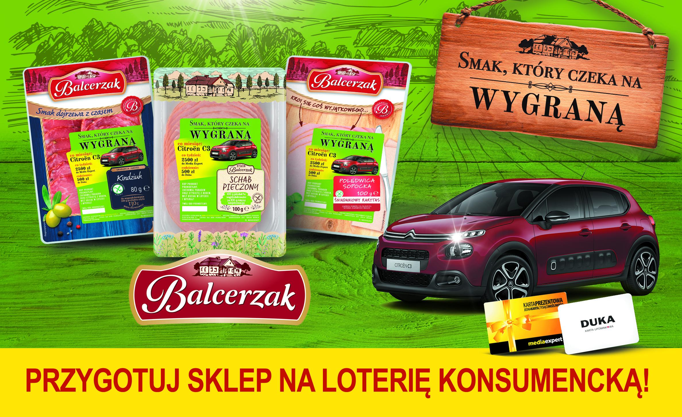 Loteria konsumencka wędlin Balcerzak