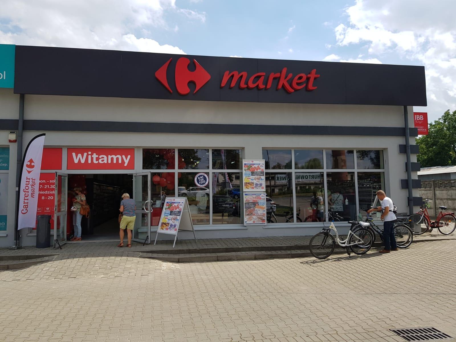 Nowy Carrefour Market w Brzegu już otwarty