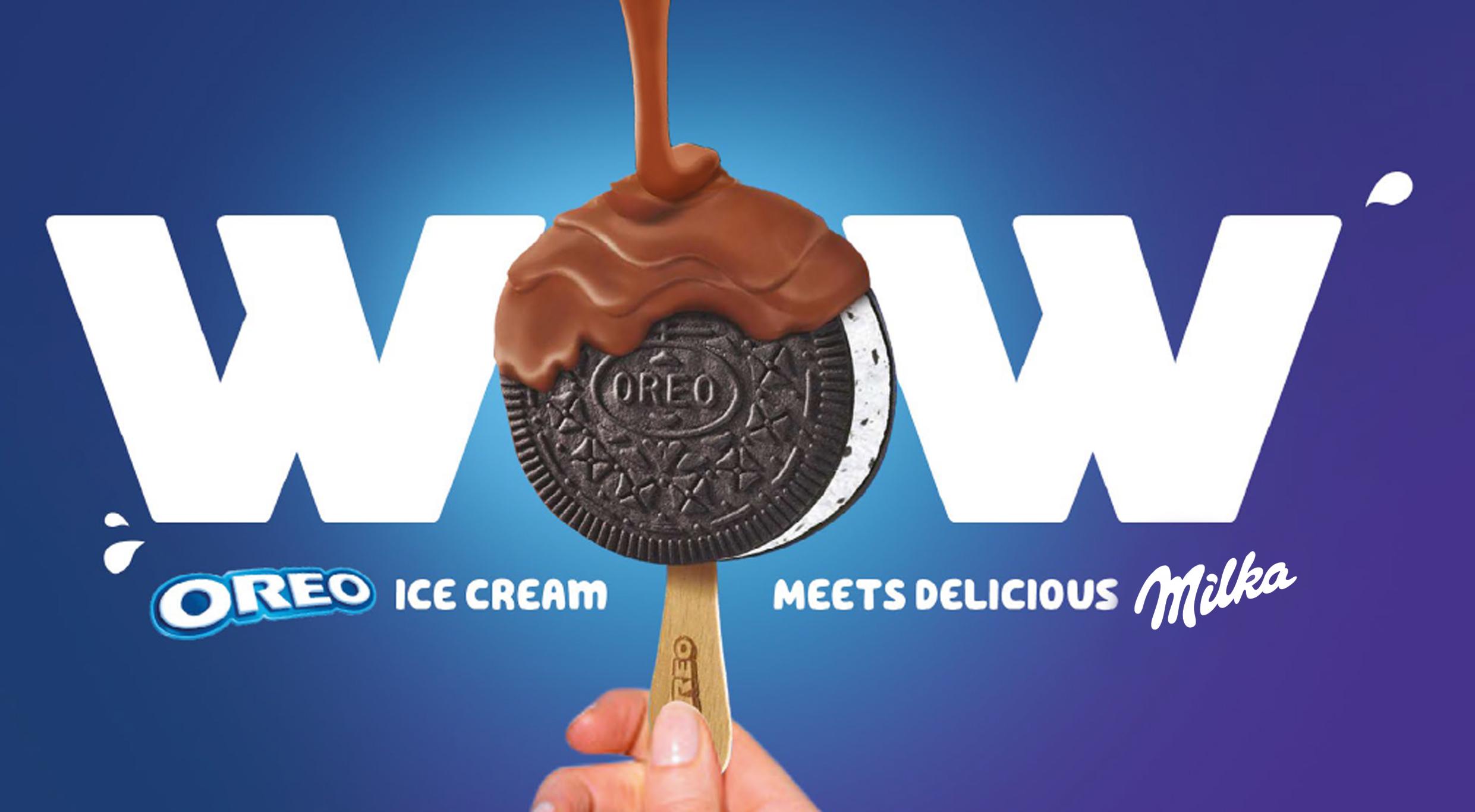 Kampania lodów Oreo i Milka