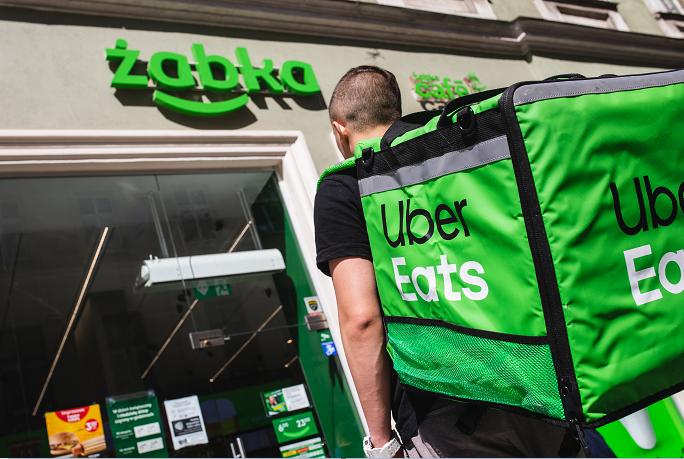 Żabka rozpoczyna współpracę z Uber Eats