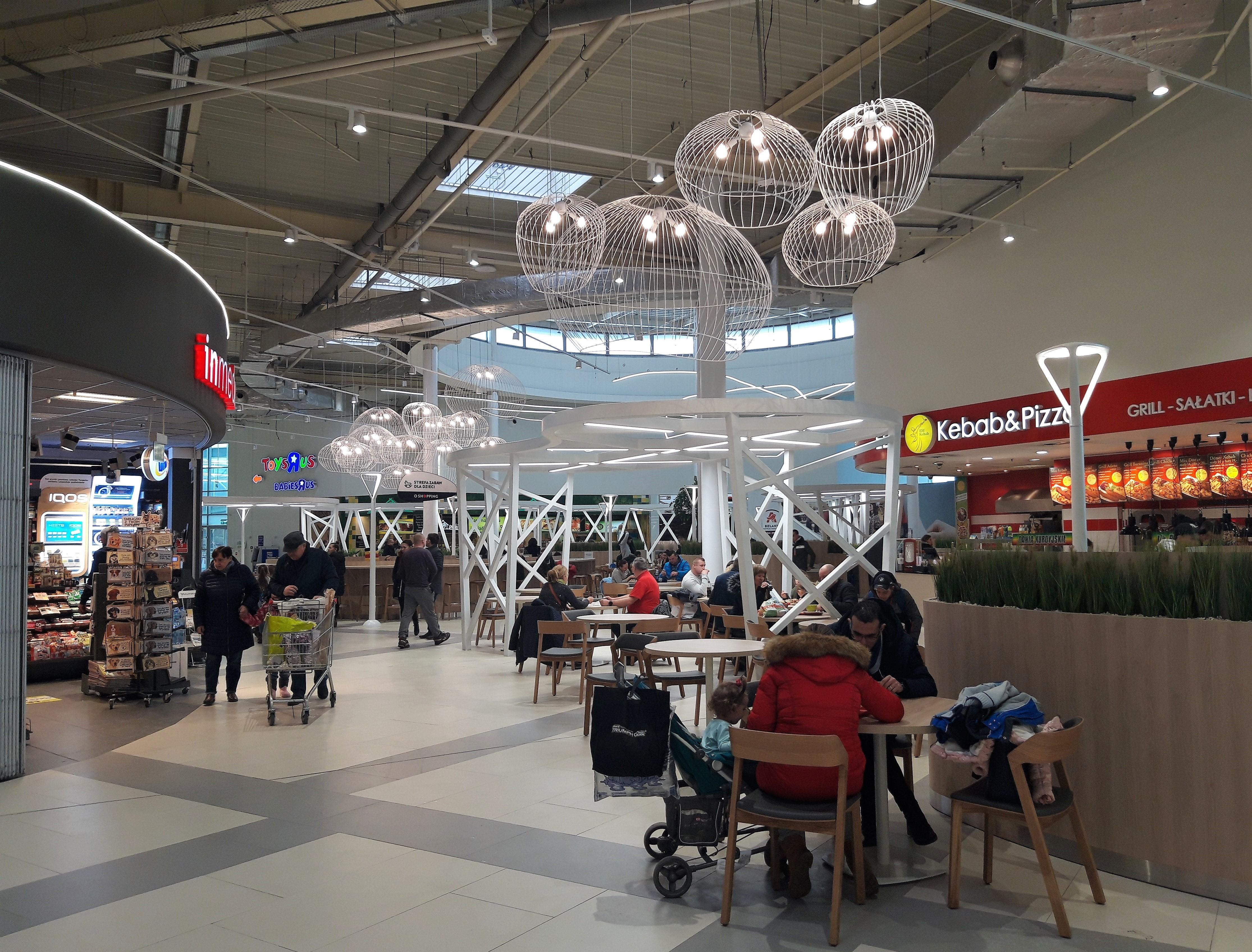 BREEAM In-Use dla Centrum Handlowego Auchan Bielany