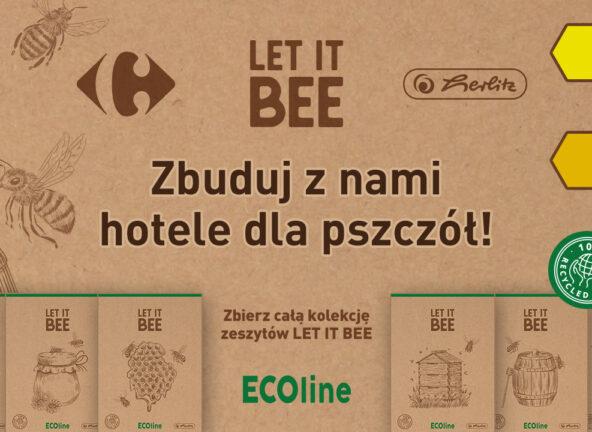 Nowa akcja w sklepach Carrefour na rzecz ochrony pszczół