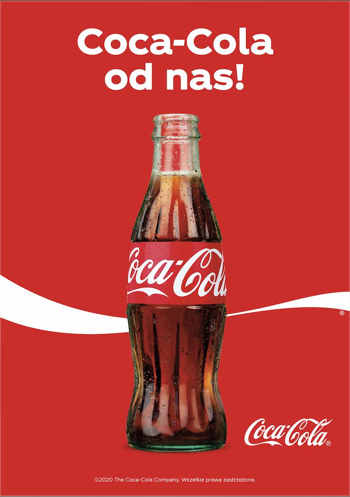 W ramach kampanii #OtwarciJakNigdy Coca-Cola rozdaje butelki napoju