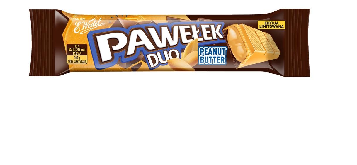Pawełek Duo Kokos i Peanut Butter –  limitowane nowości od E.Wedel