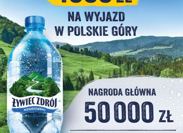 Najnowsza loteria produktowa wody niegazowanej Żywiec Zdrój