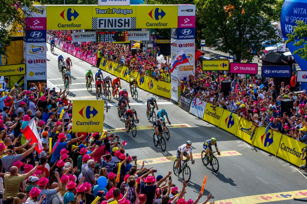 Carrefour Polska ponownie głównym sponsorem Tour de Pologne