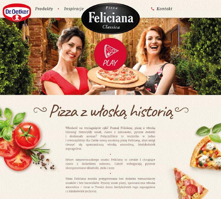 Feliciana wystartowała z nową stroną internetową