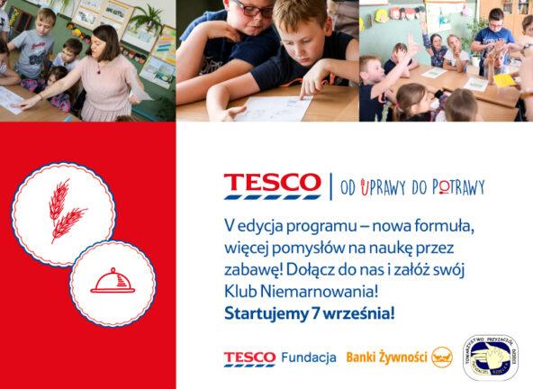"""Tesco: 5. edycja programu """"Od uprawy do potrawy"""""""