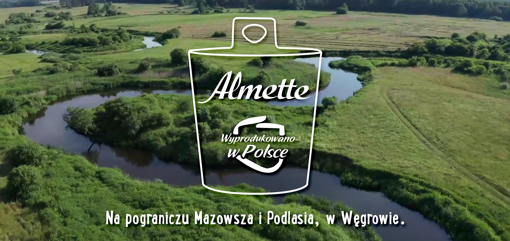 Almette – wyprodukowano w Polsce