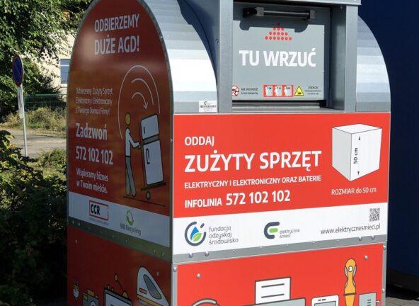 Aldi wspiera zbiórkę elektrośmieci