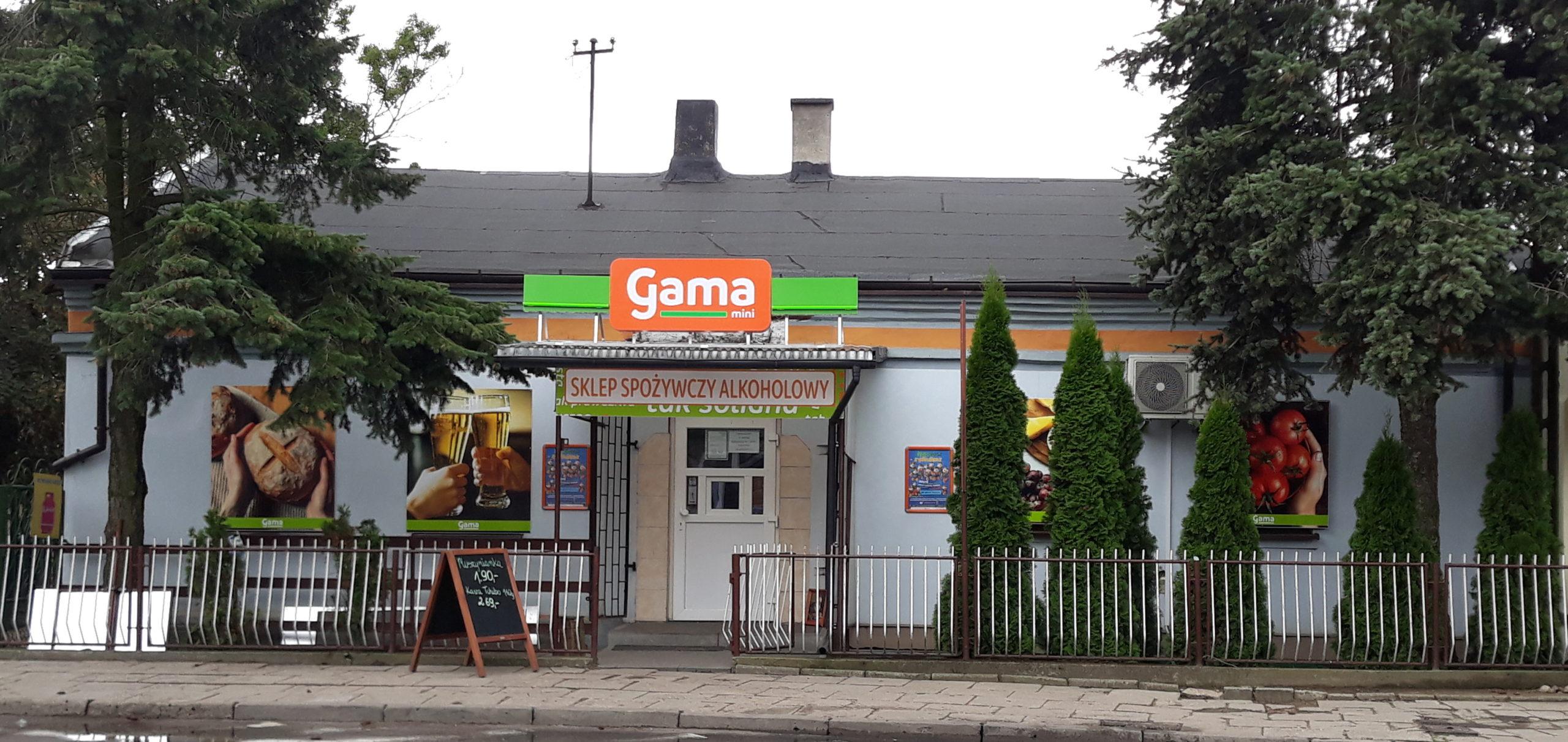 Gama mini otwarta w Witonii