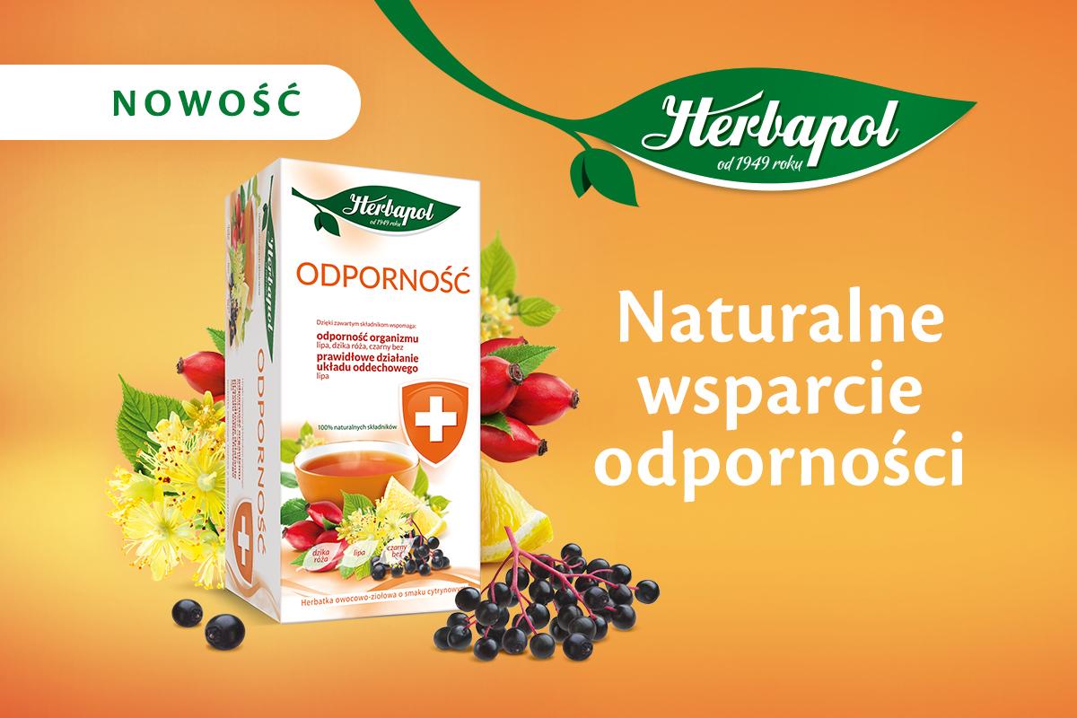 Odporność – nowa herbatka funkcjonalna w portfolio marki Herbapol