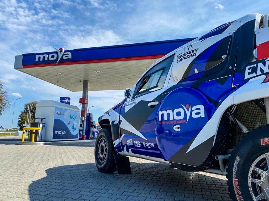 Sieć Moya na rajdzie Baja Poland