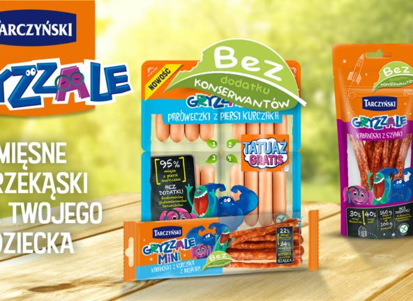 Grupa Tarczyński z nową kampanią produktów dla dzieci