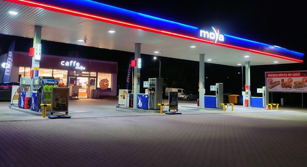 Czwarta stacja paliw Moya w Białymstoku