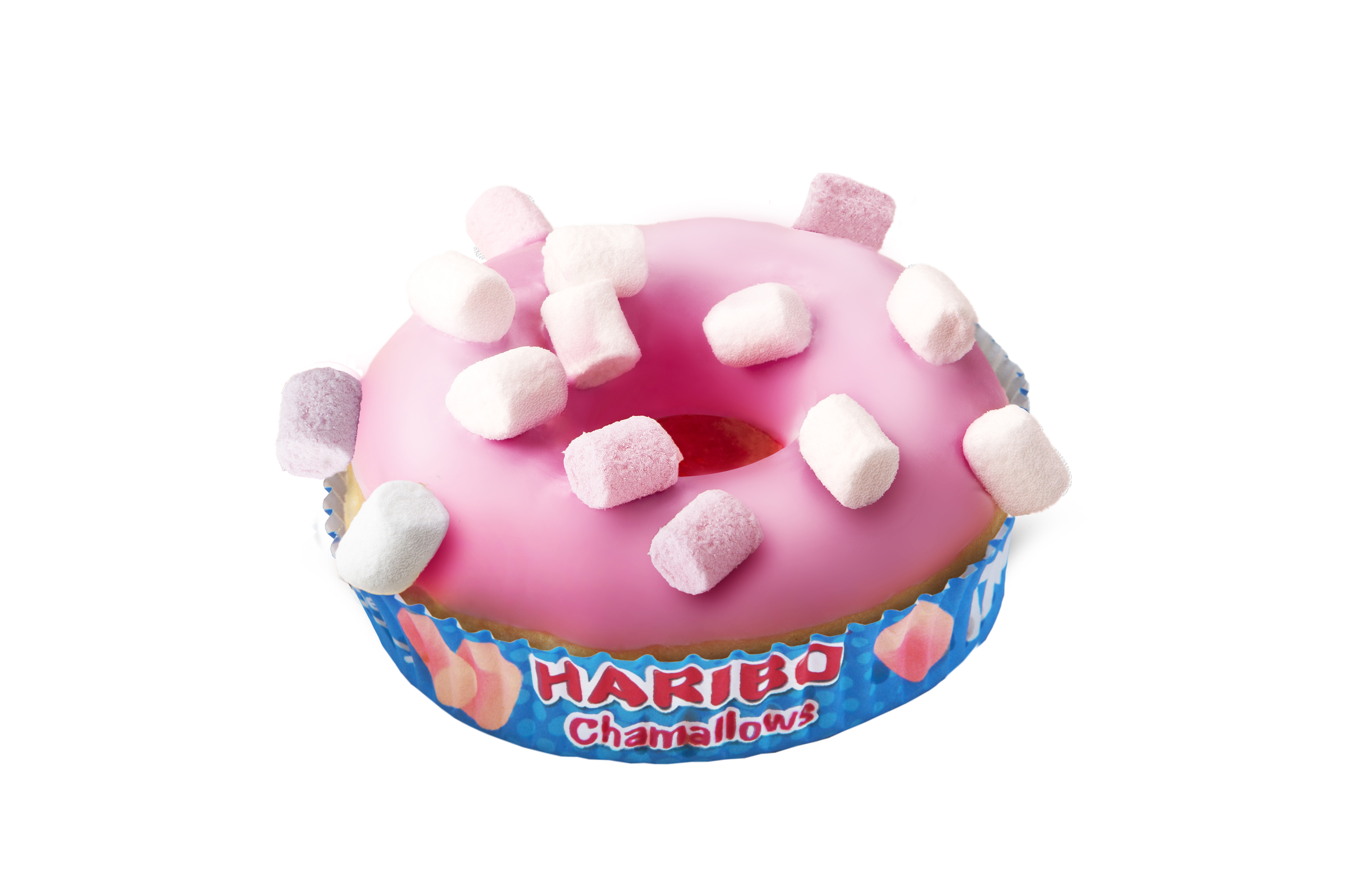Donut z piankami Haribo Chamallows