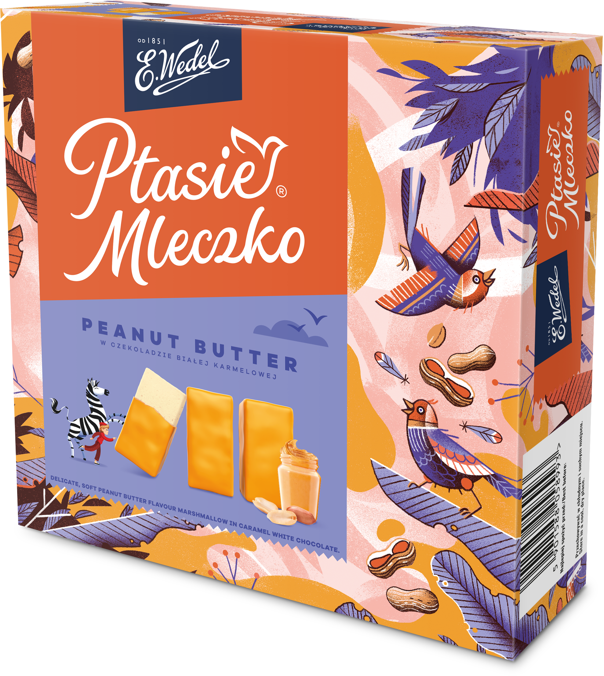 Ptasie Mleczko Peanut Butter powraca