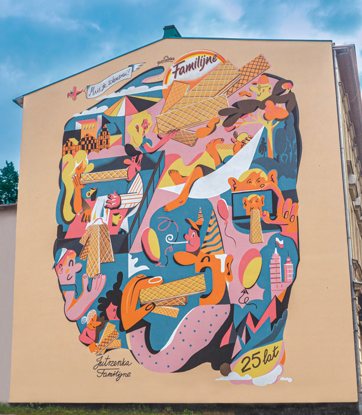 familijne mural