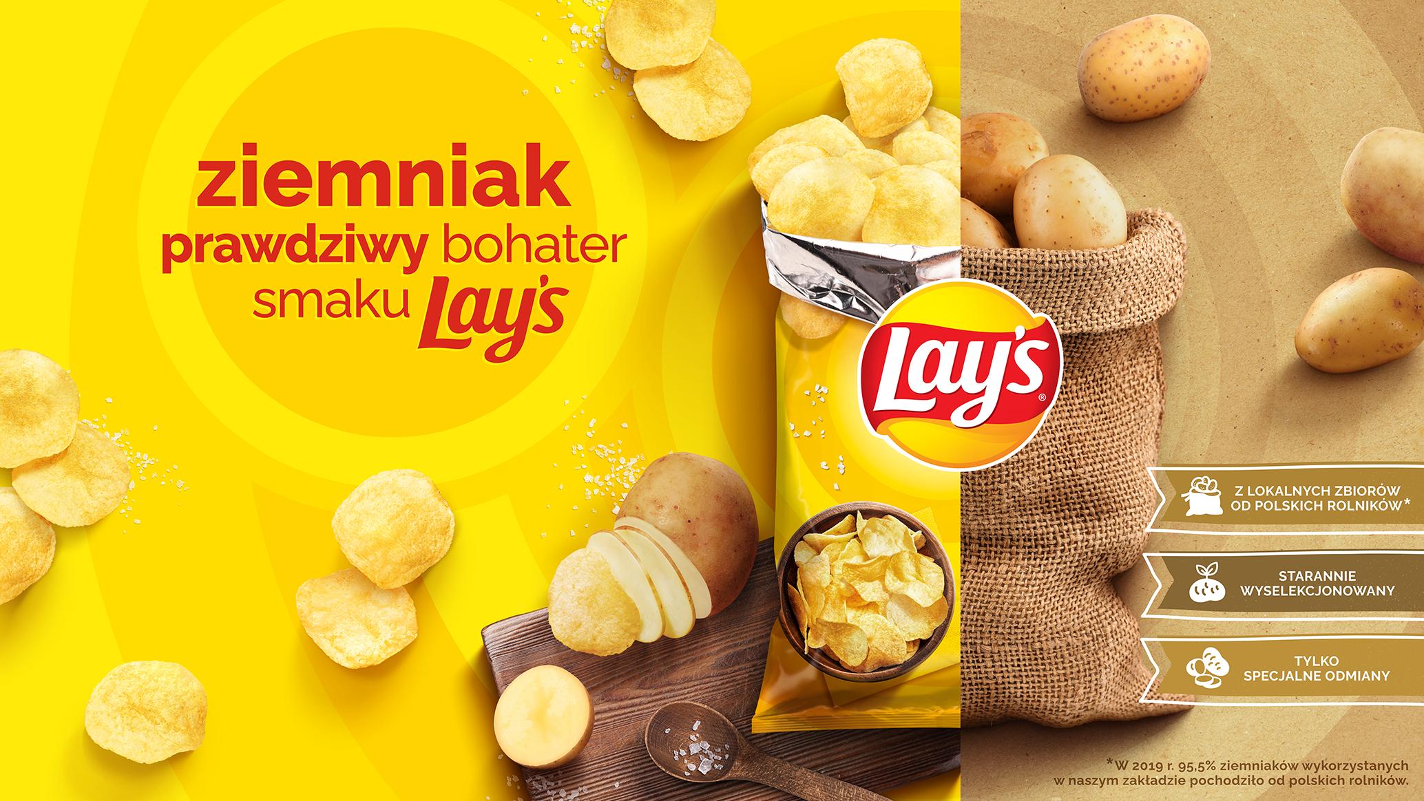 Ziemniak – prawdziwy bohater smaku Lay's