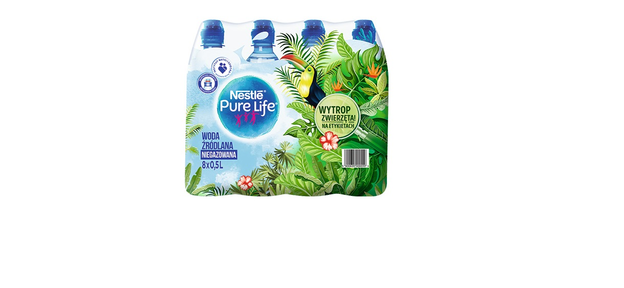 Nowe etykiety Nestlé Pure Life dla młodych odkrywców