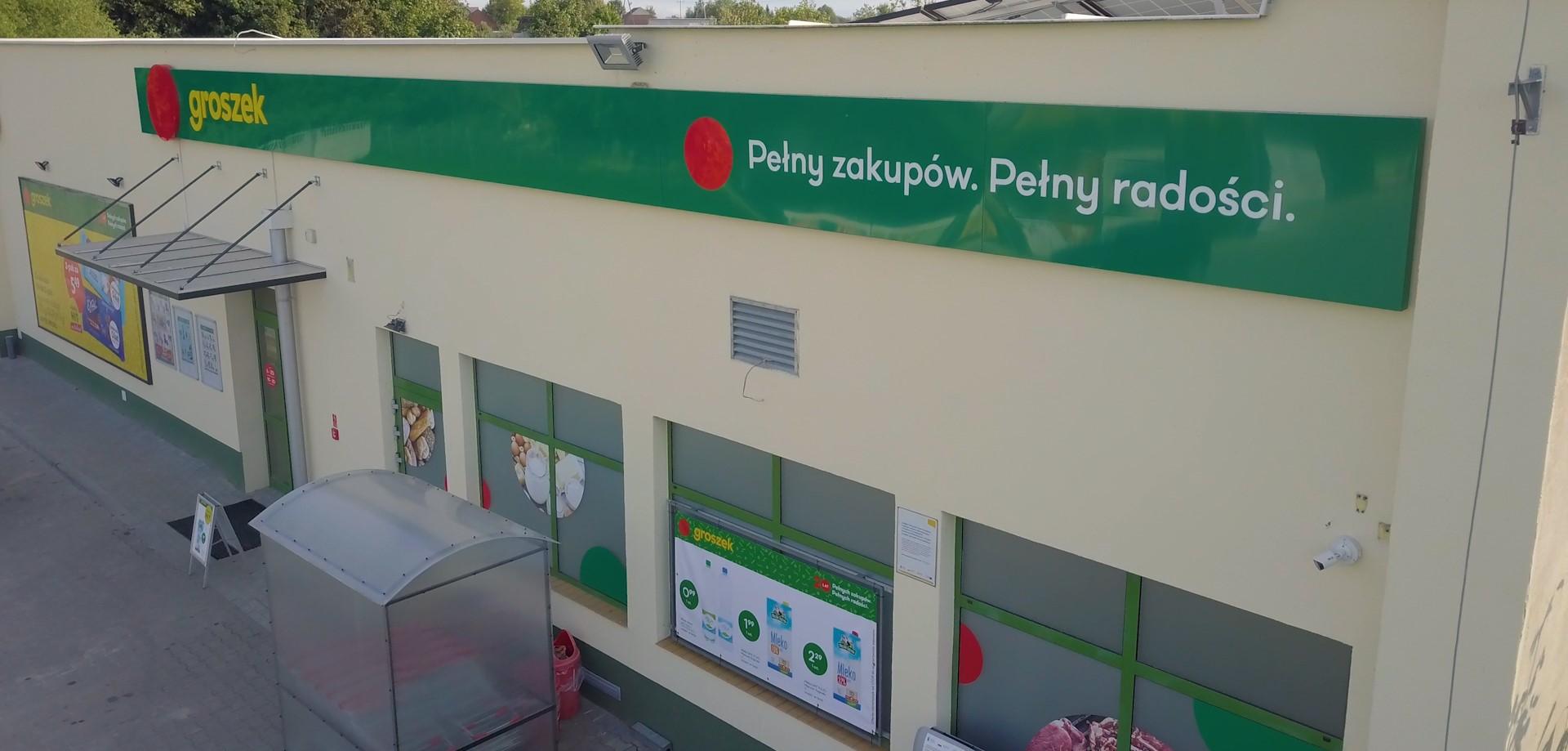 Sieć sklepów Groszek będzie mieć nowe logo