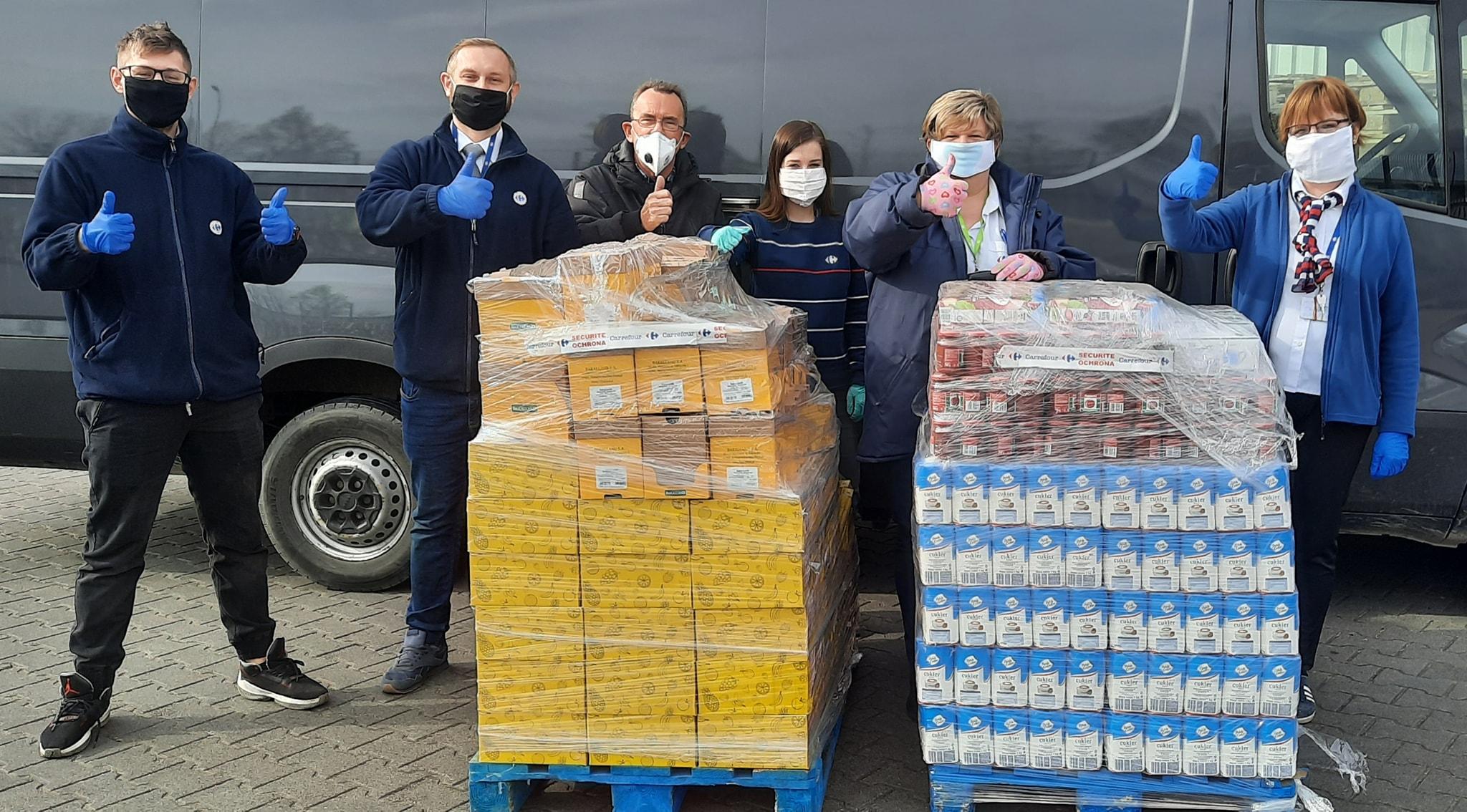 Carrefour wspiera szpitale zakaźne