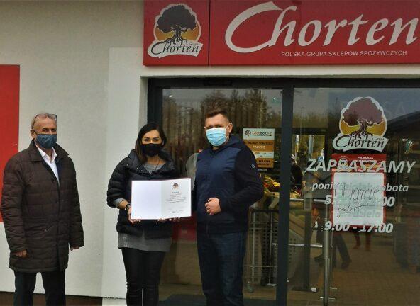 2000. sklep Grupy Chorten otwarty w Gródku