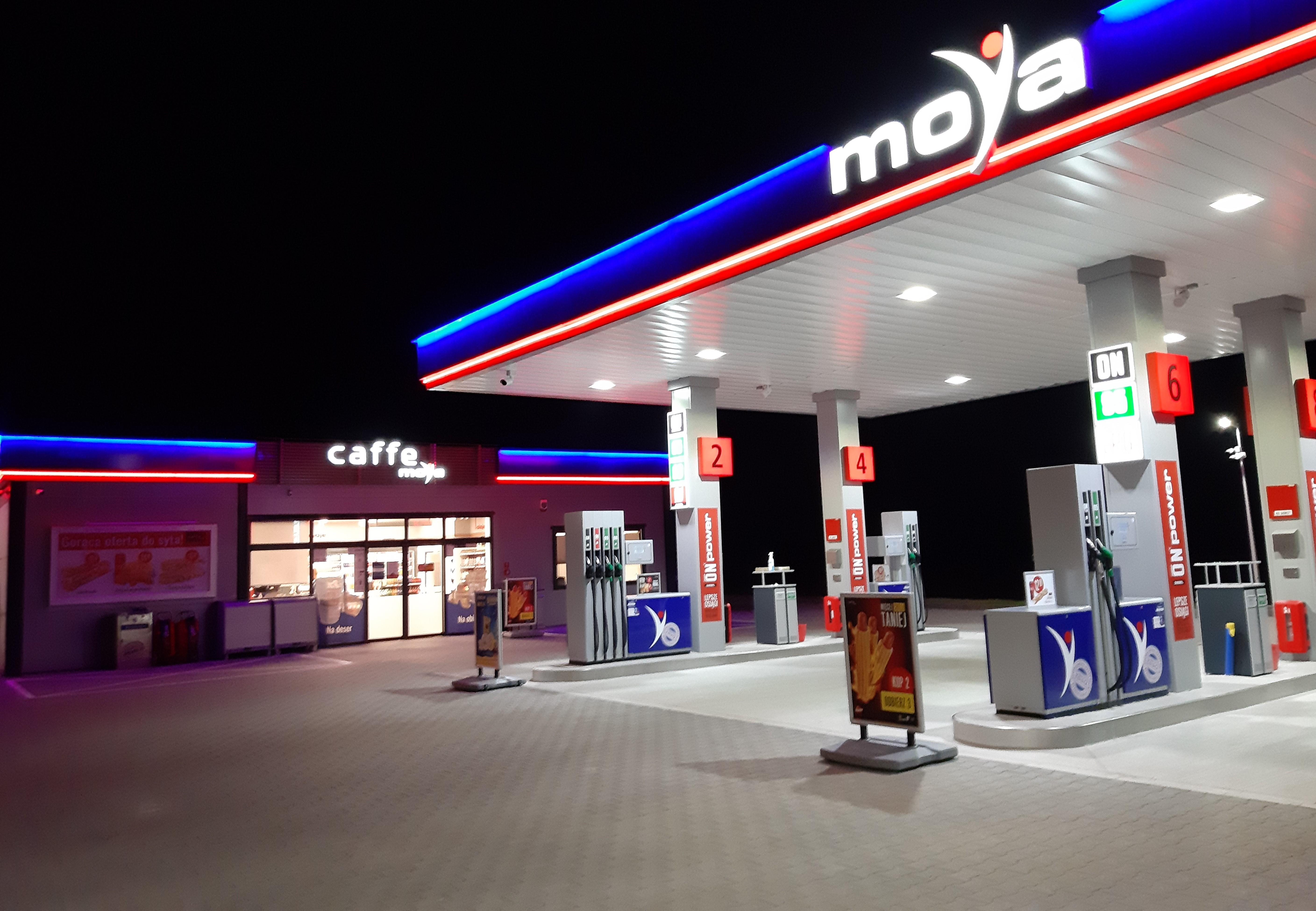 Nowa stacja sieci Moya