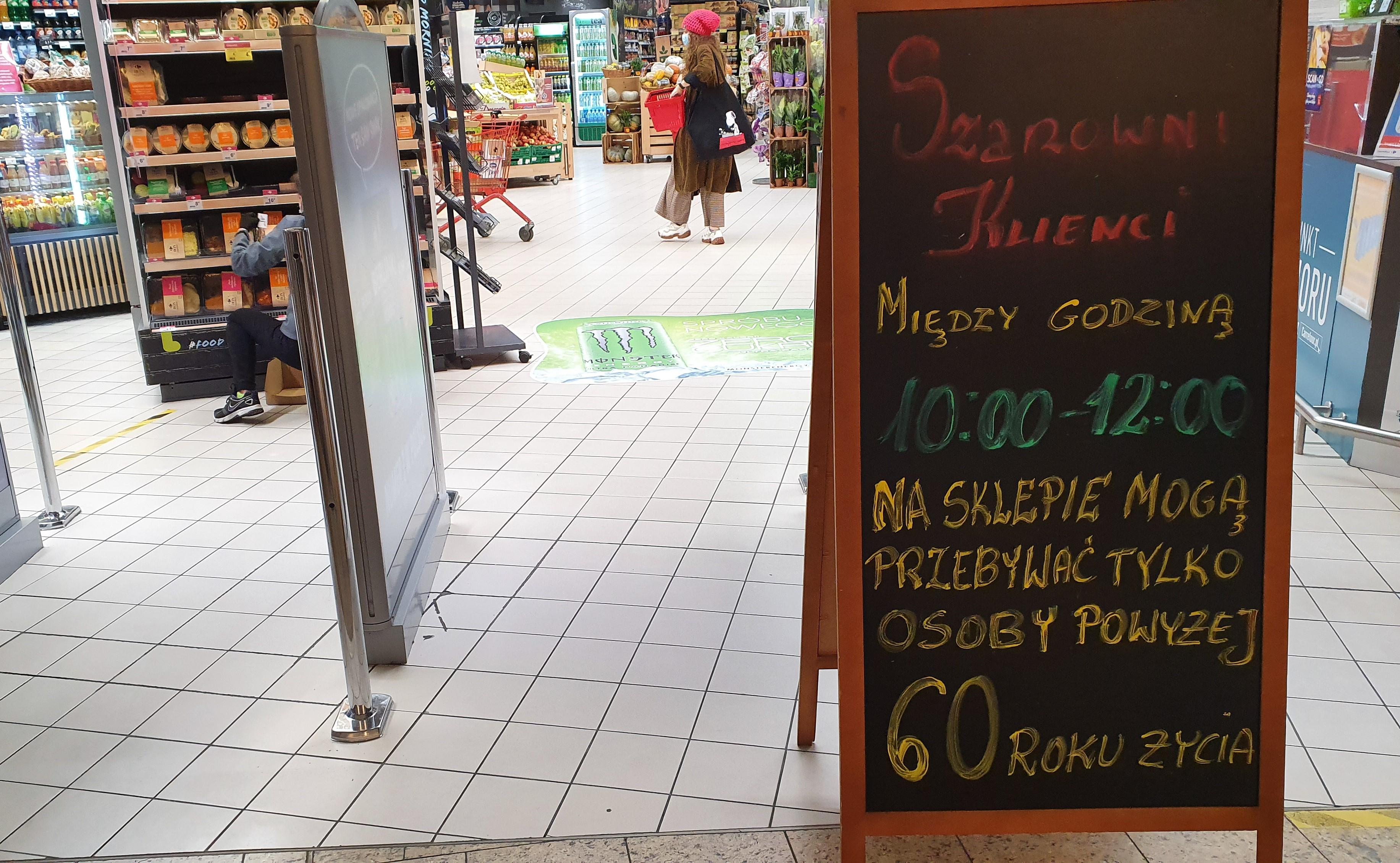"""Handlowa """"Solidarność"""" komentuje obostrzenia dla sklepów"""
