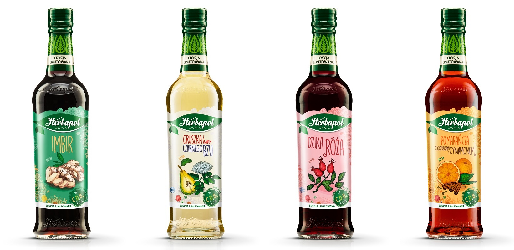 Syropy sezonowe od marki Herbapol