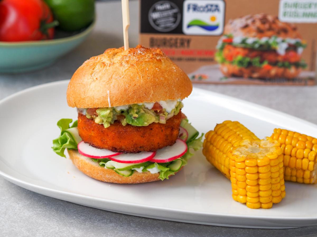 Roślinne burgery od FRoSTY