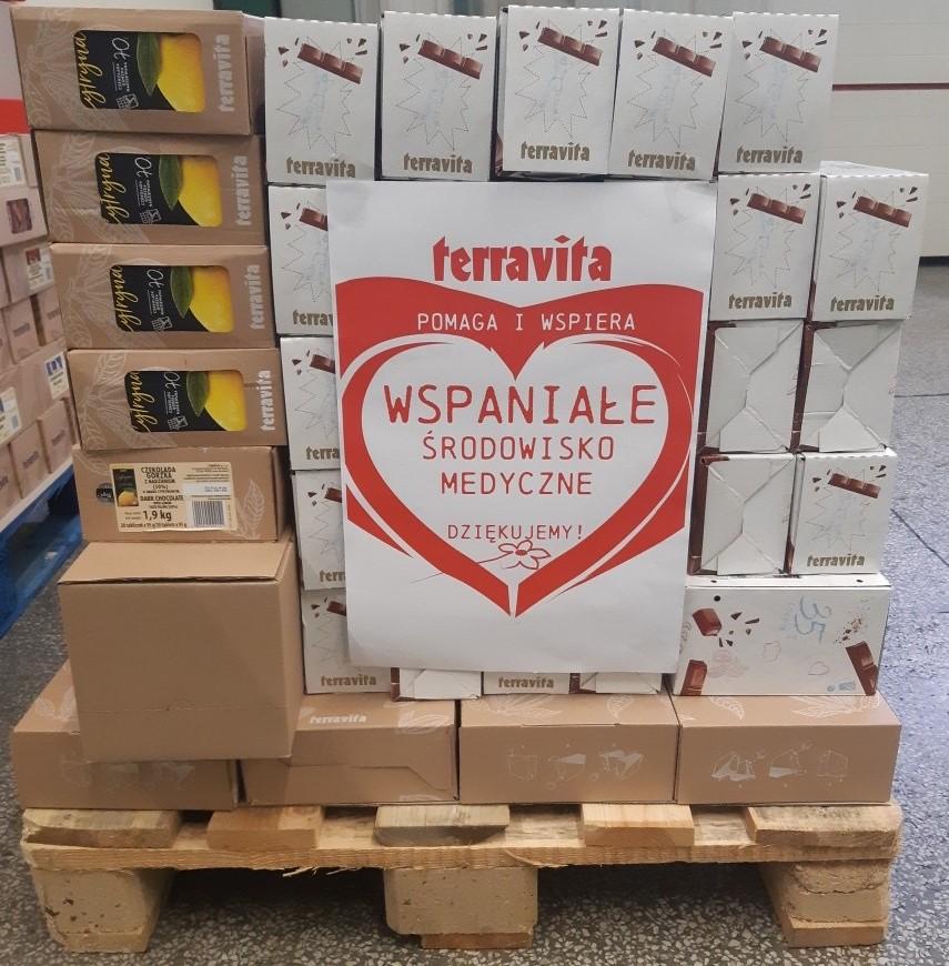 Terravita wspiera pracowników służby zdrowia