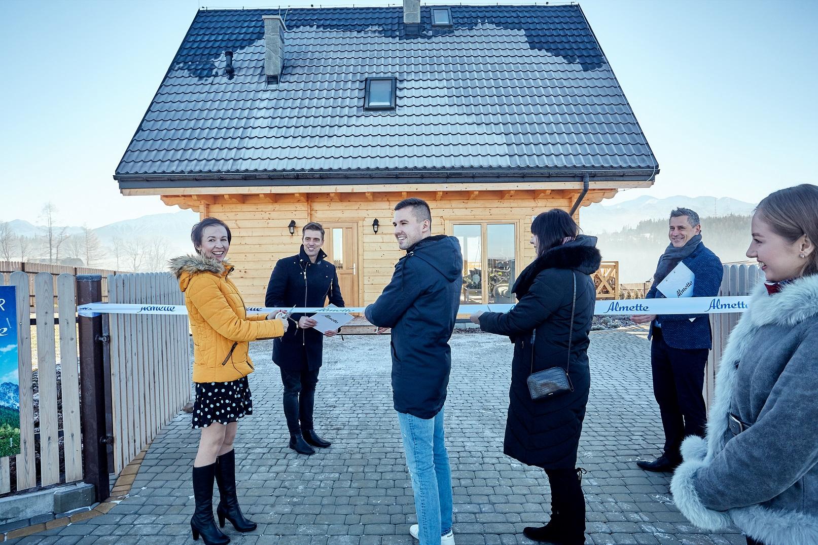 Eko dom Almette w Tatrach ma już właściciela