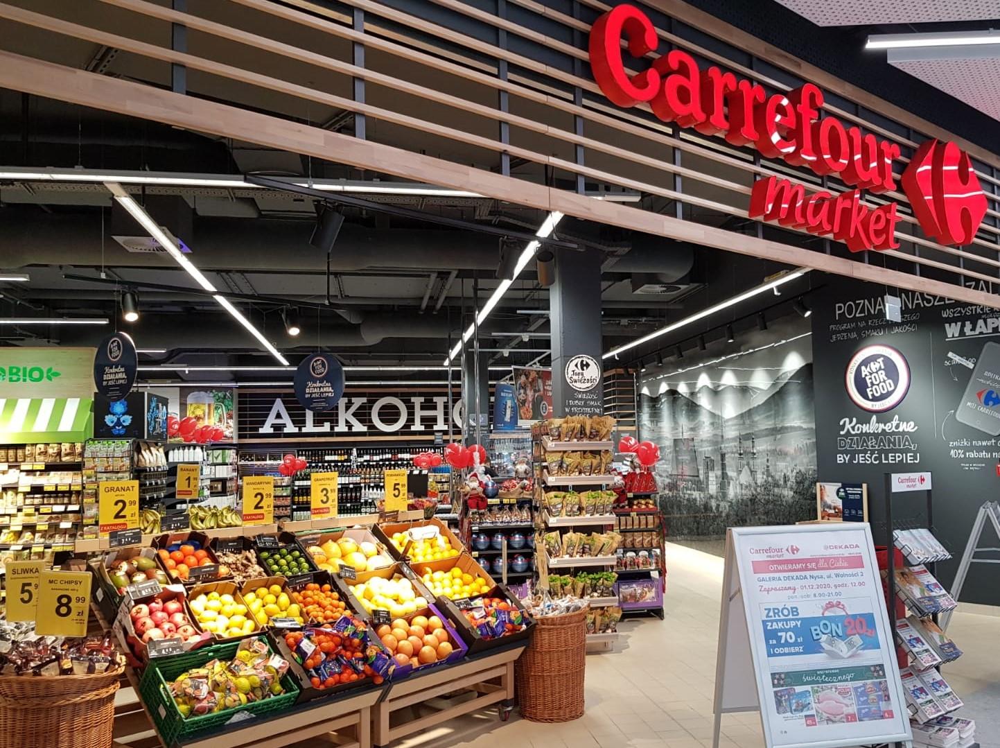 Carrefour otworzył unikalny supermarket w Nysie