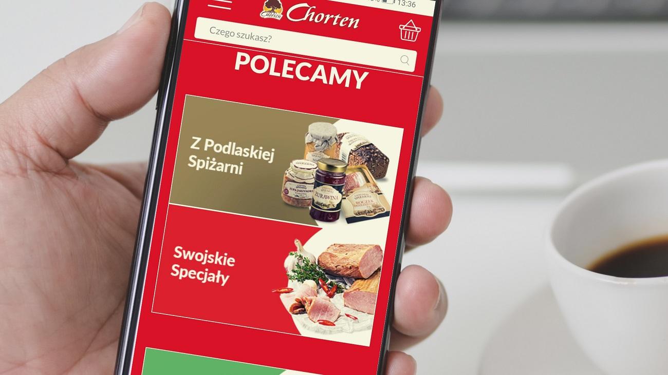 Grupa Chorten uruchamia sprzedaż online
