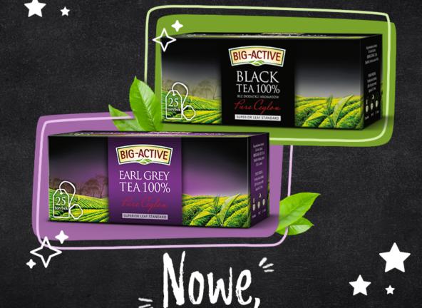 Portfolio herbat czarnych marki Big-Active