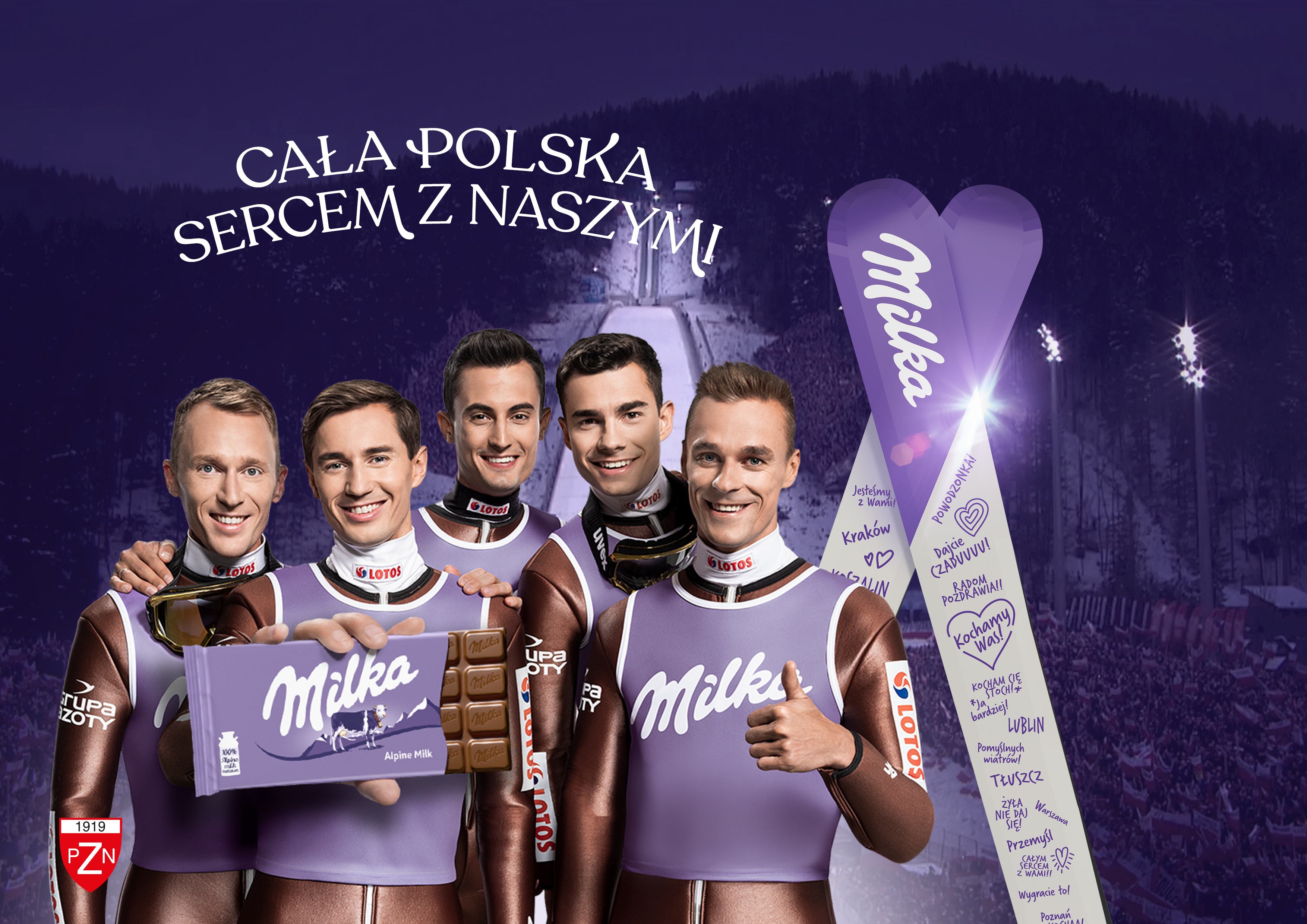 """Trwa trzecia odsłona kampanii """"Milka. Sercem z Naszymi"""""""