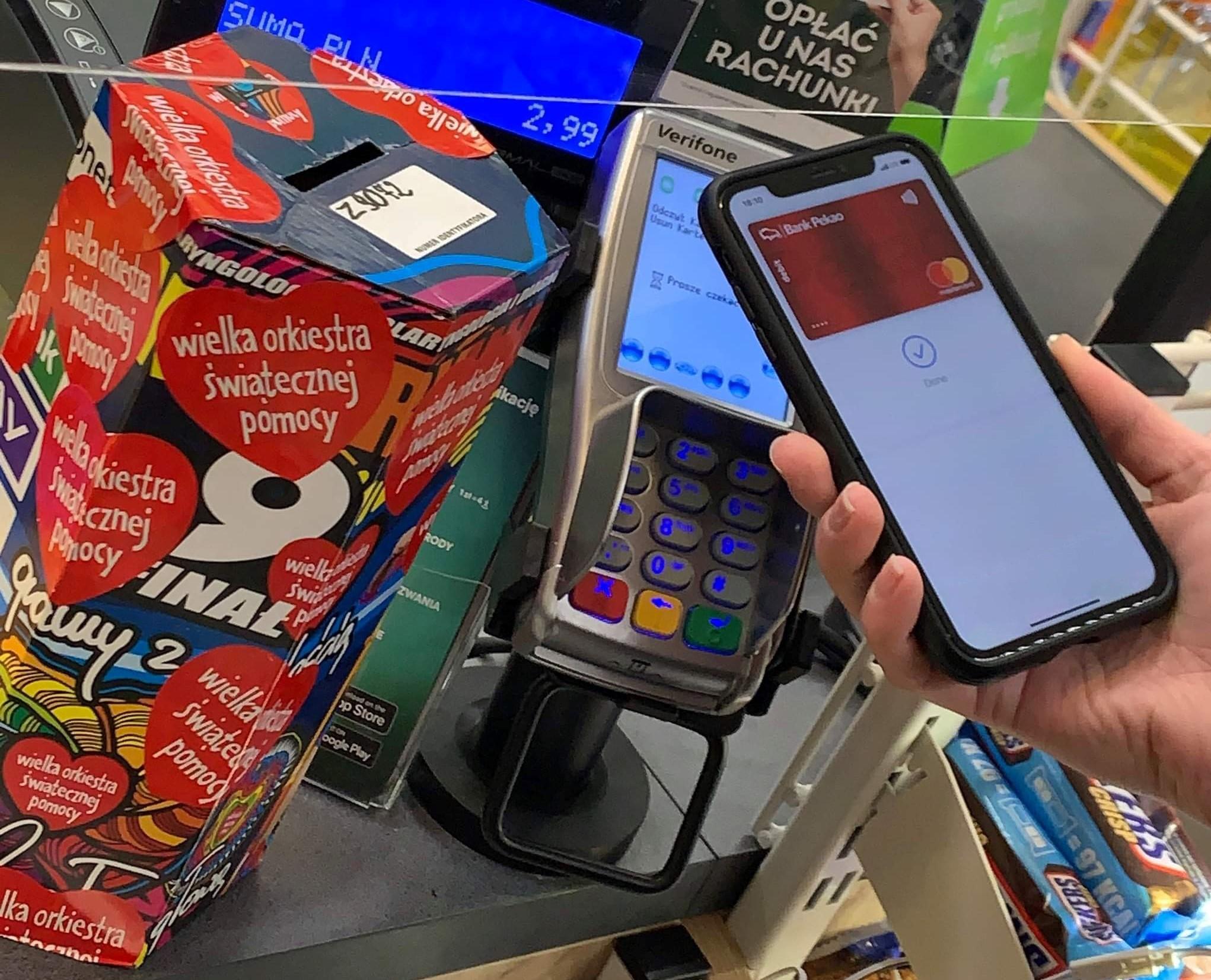 W sklepach Żabki WOŚP można wesprzeć płacąc kartą