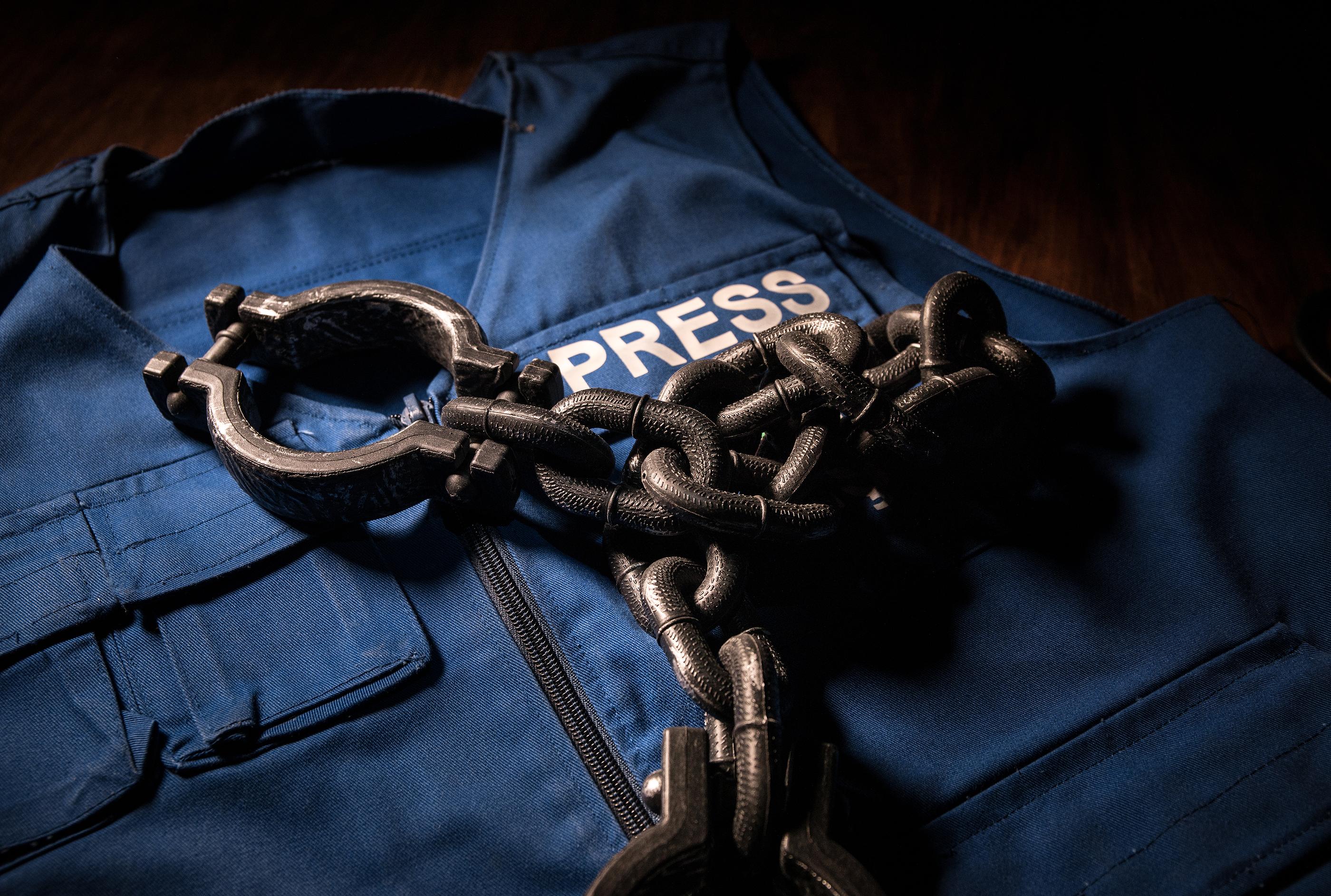 Solidarni z represjonowanymi dziennikarzami