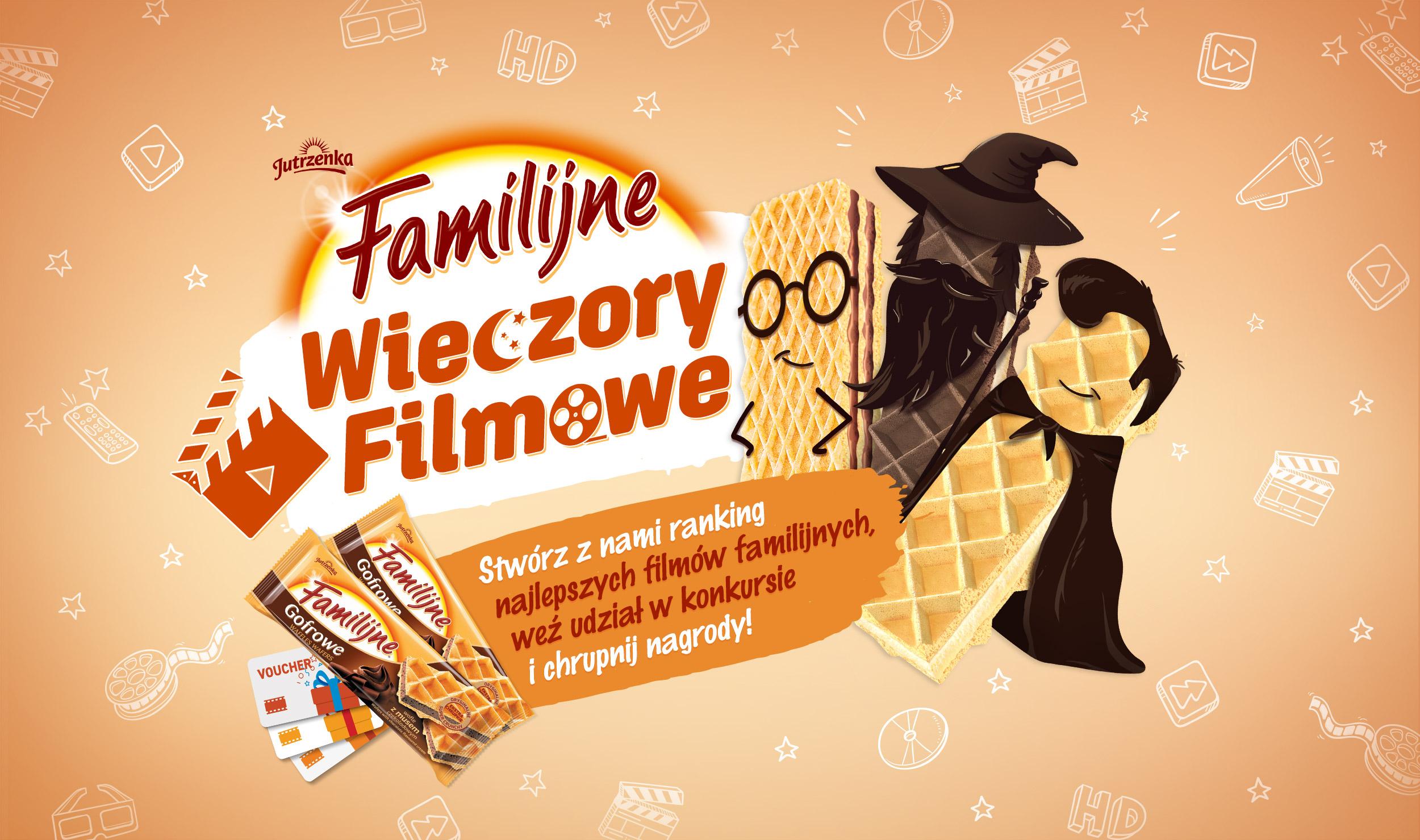 Familijne Wieczory Filmowe – ruszyła zimowa kampania Wafli Familijnych