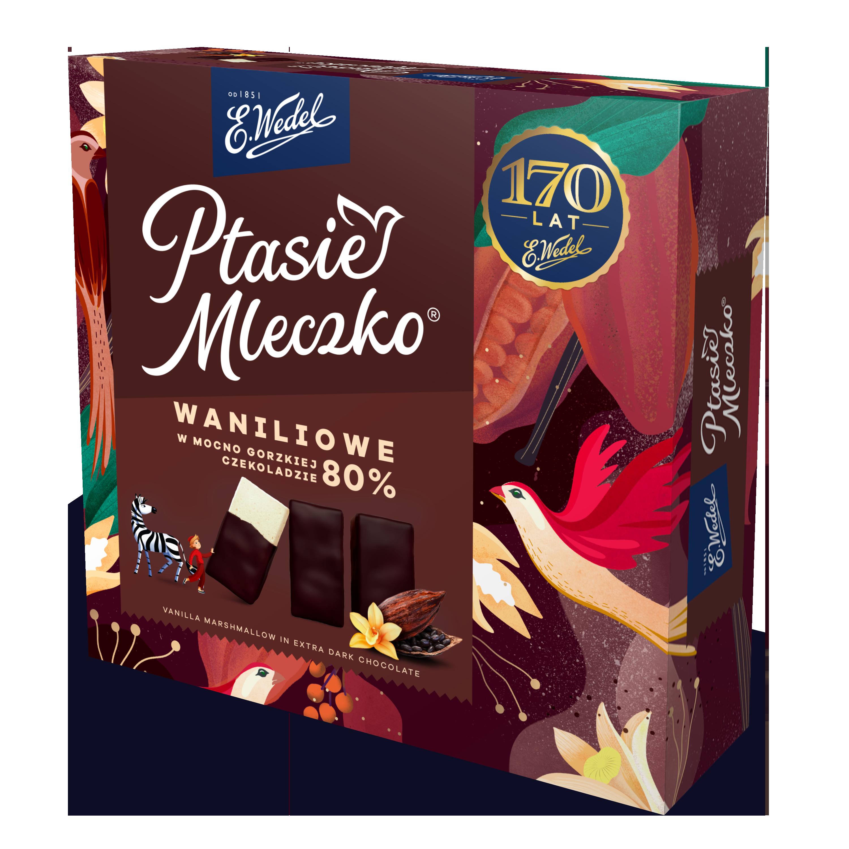 Nowy wariant pianek Ptasie Mleczko z okazji 170 lat E.Wedel