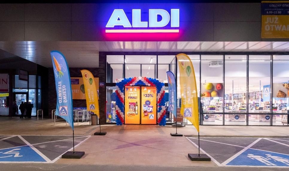 Trzeci sklep Aldi w Gliwicach