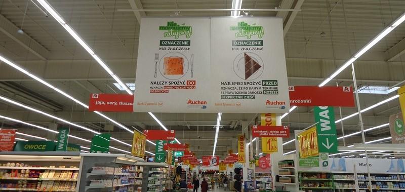 Auchan na rzecz niemarnowania żywności