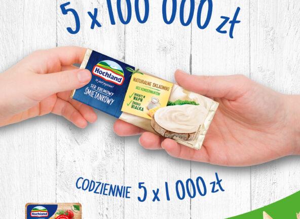 Rusza loteria Hochland wspierająca Program Pajacyk