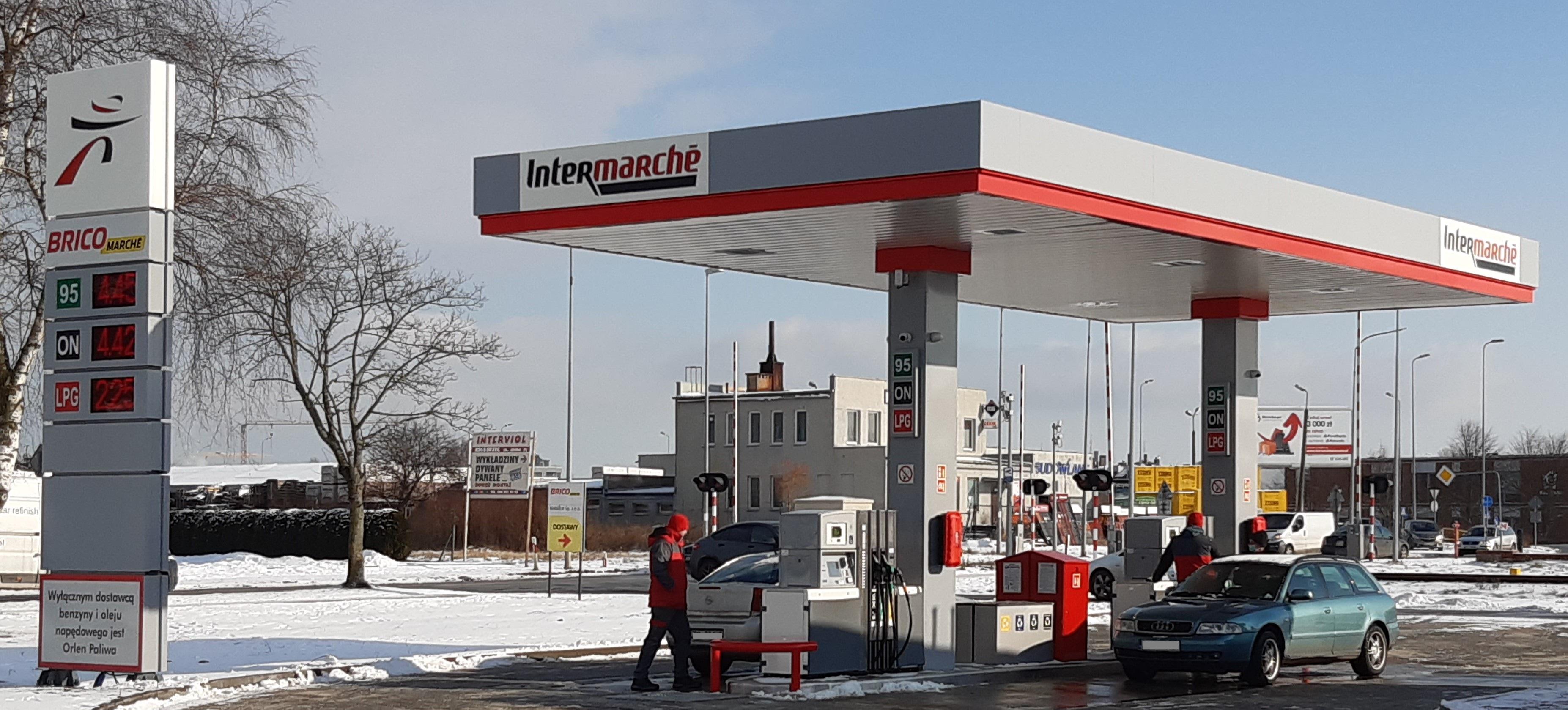Nowa stacja paliw Intermarché w Kołobrzegu