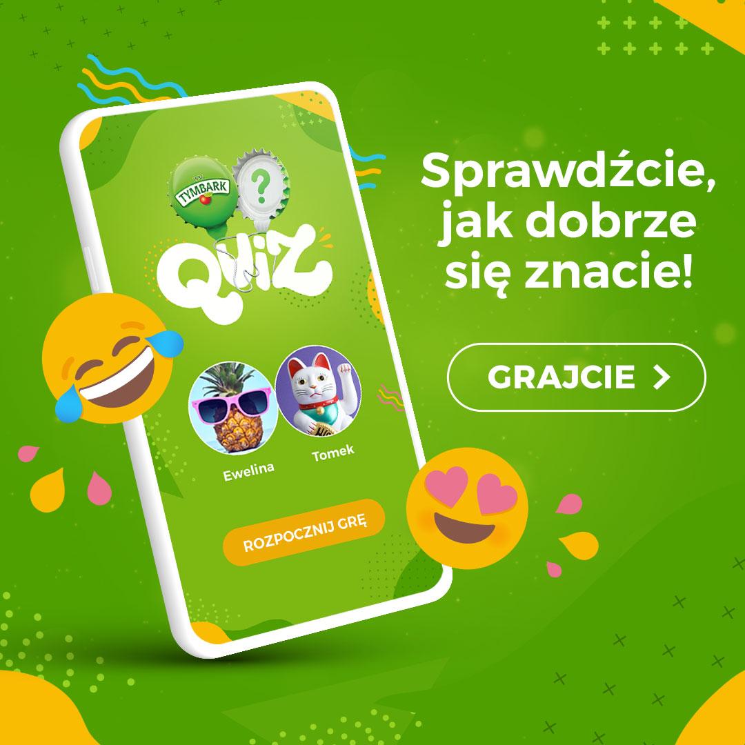 Tymbark Quiz, czyli gra dla znajomych