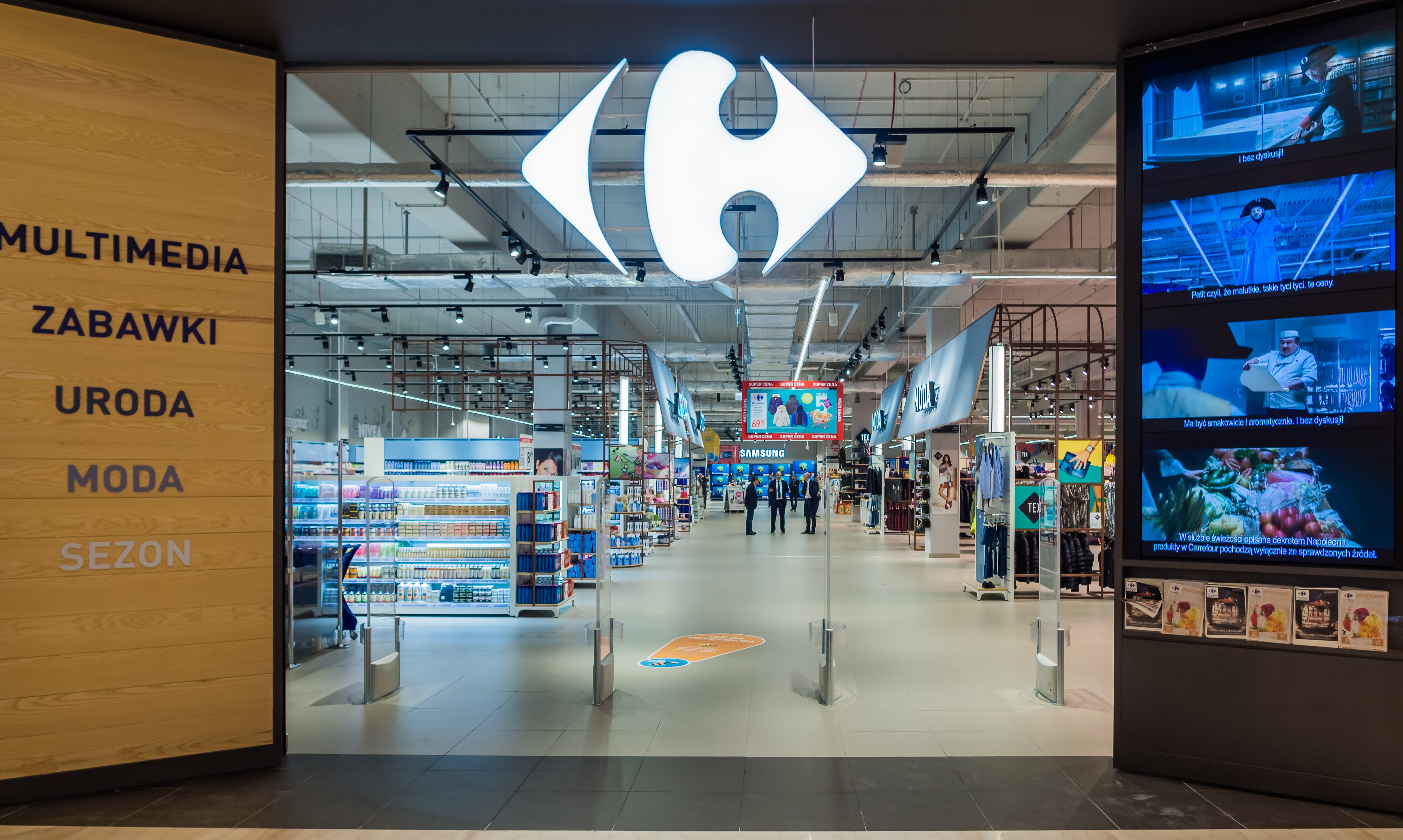 Bezpieczeństwo sanitarno-epidemiologiczne w Carrefour: trwają niezależne audyty