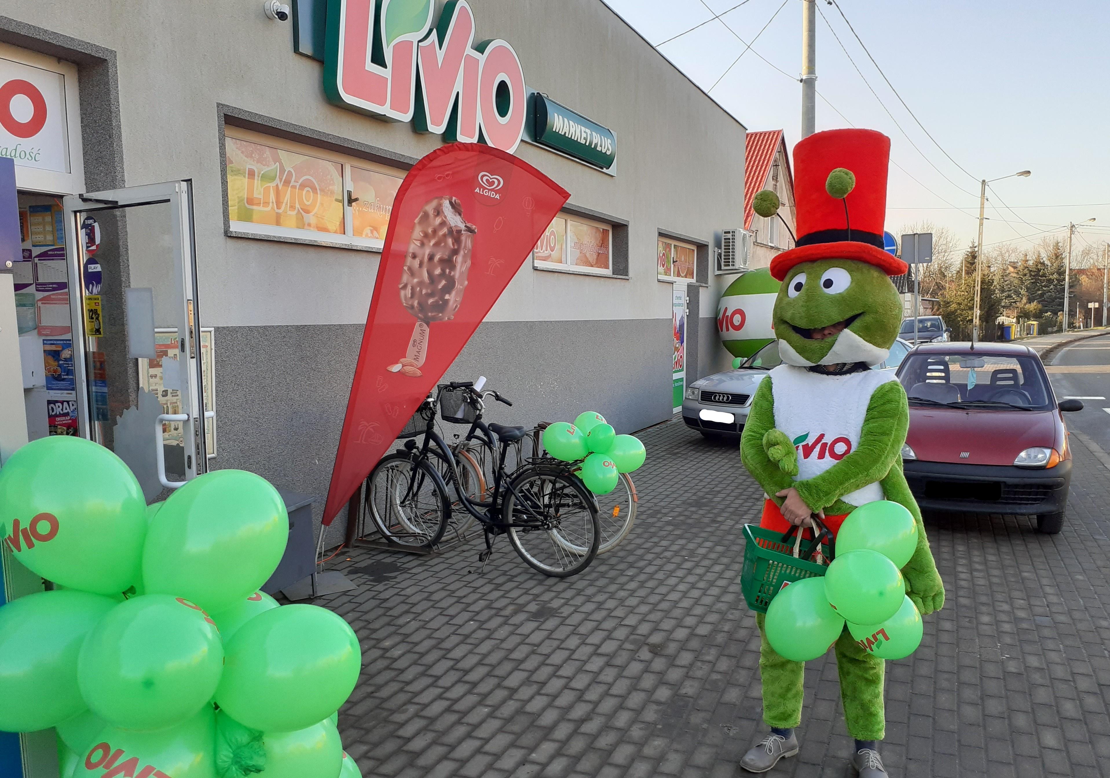 Nowy sklep Livio w Kościerzycach