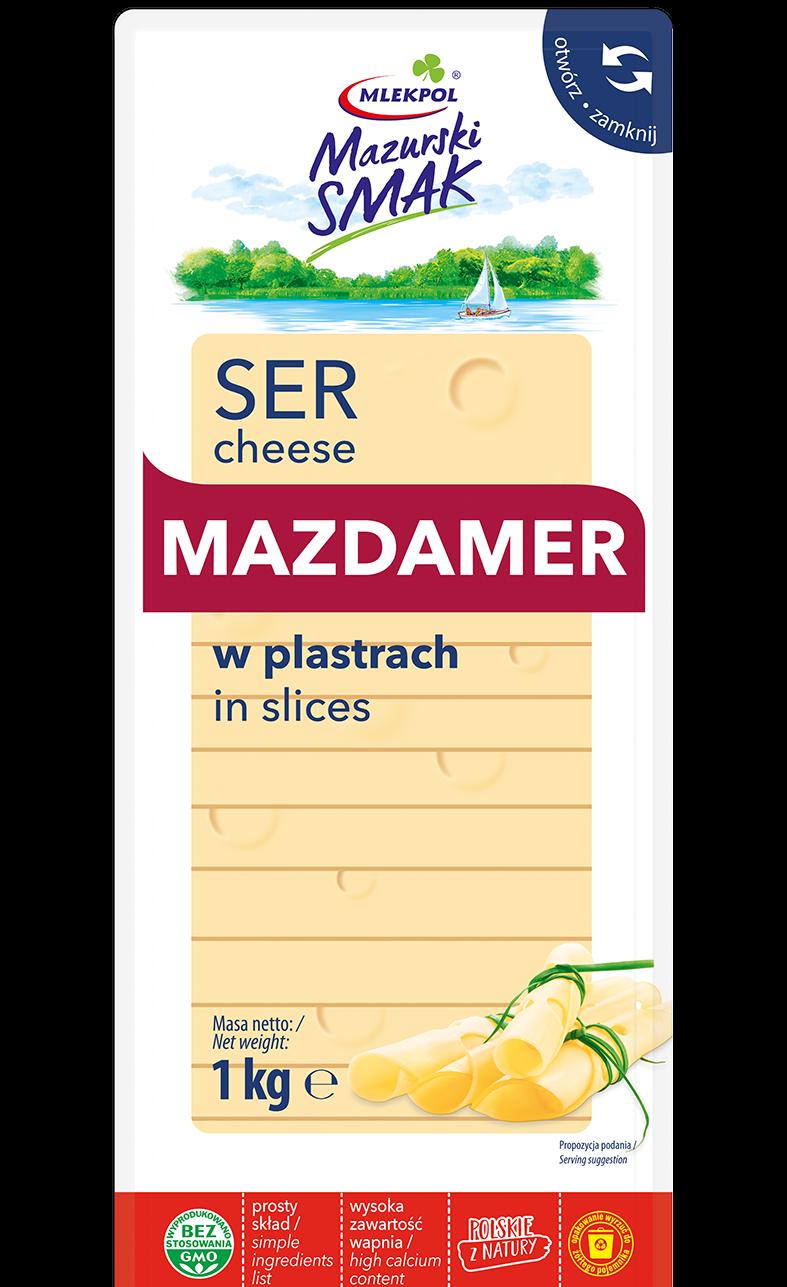 Ser żółty Mazdamer – nowy produkt w portfolio marki Mazurski Smak